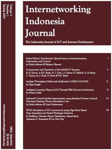 The internetworking indonesia journal (iij) is a semi-annual electronic journal devoted to the timely study of the