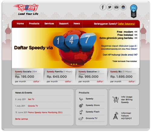 New Speedy Site